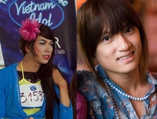 Giật mình với bộ ảnh trước khi chuyển giới của Sao Việt