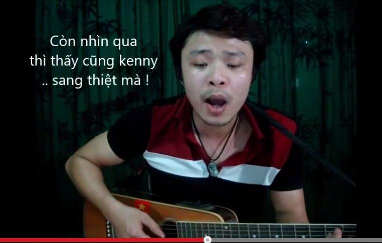 Nhạc chế Chiếc Đầm Ma Quái cũng liên quan tới Kenny Sang