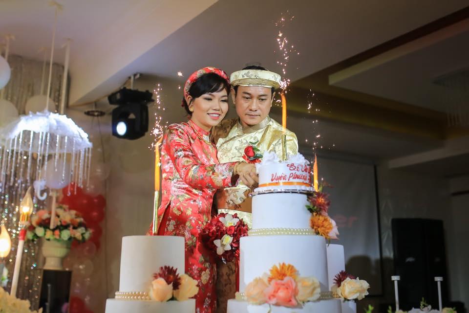 Hoàng Phúc, Uyên Phương hạnh phúc trong ngày cưới