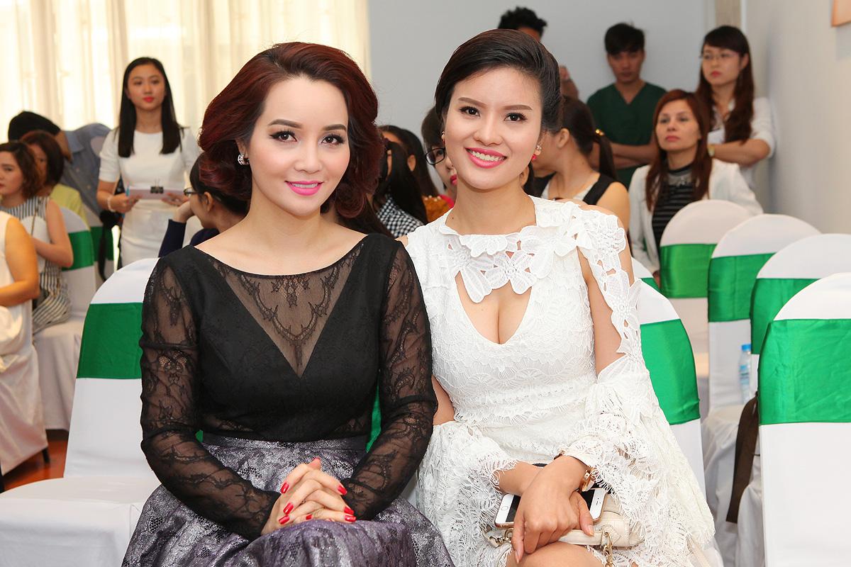 Mai Thu Huyền cùng Lê Thị Phương làm khách mời vip tại buổi tọa đàm làm đẹp