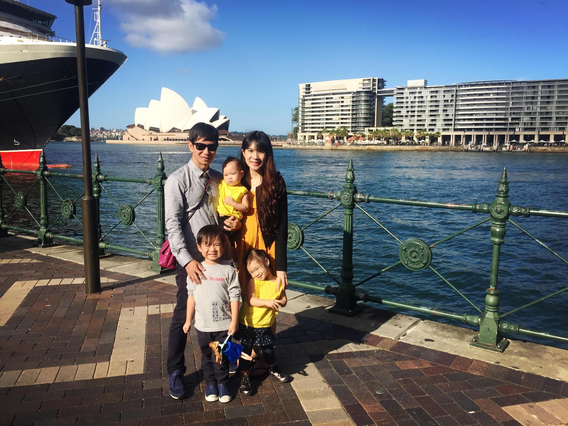 Vợ chồng Lý Hải, Minh Hà đưa con đi du lịch khắp nơi