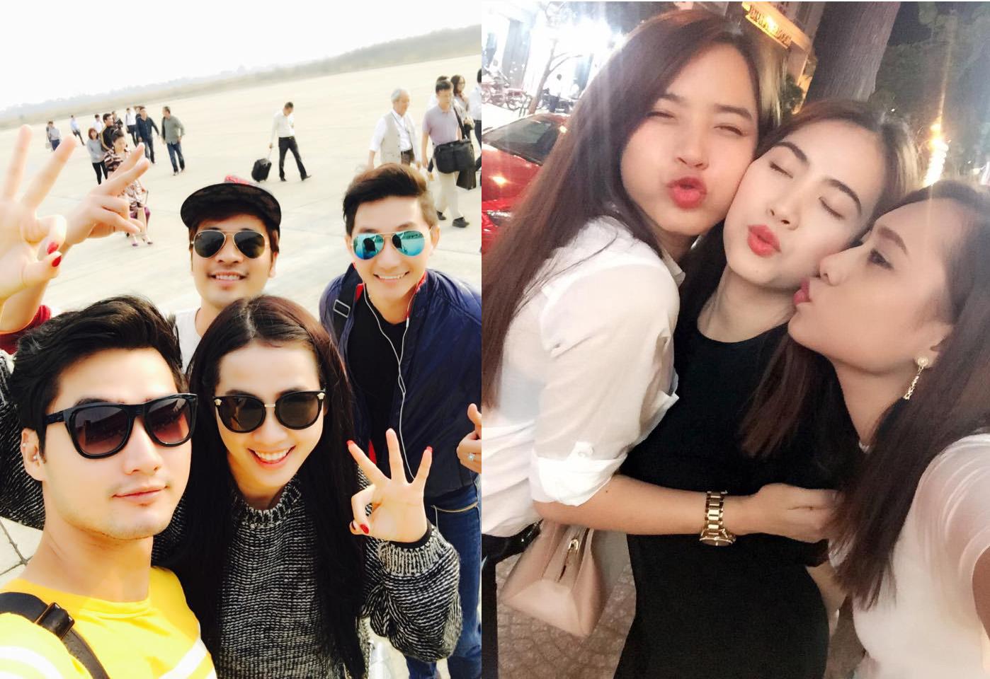 Ảnh đời  thường của sao Việt qua facebook ngày 5/4