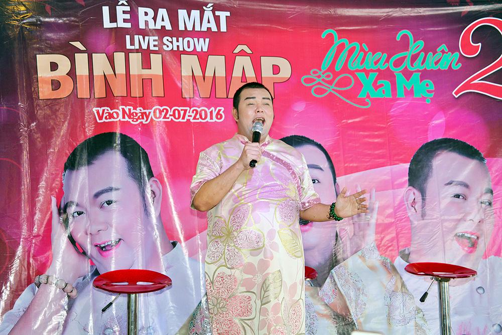 Dàn sao Việt đến chúc mừng Bình Mập làm live show từ thiện lần 2