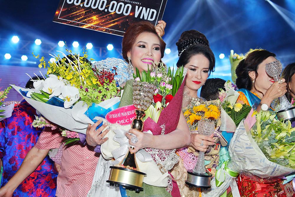 Bena xuất sắc giành ngôi Á khôi 1 trong đêm chung kết cuộc thi Duyên Dáng Doanh Nhân Việt