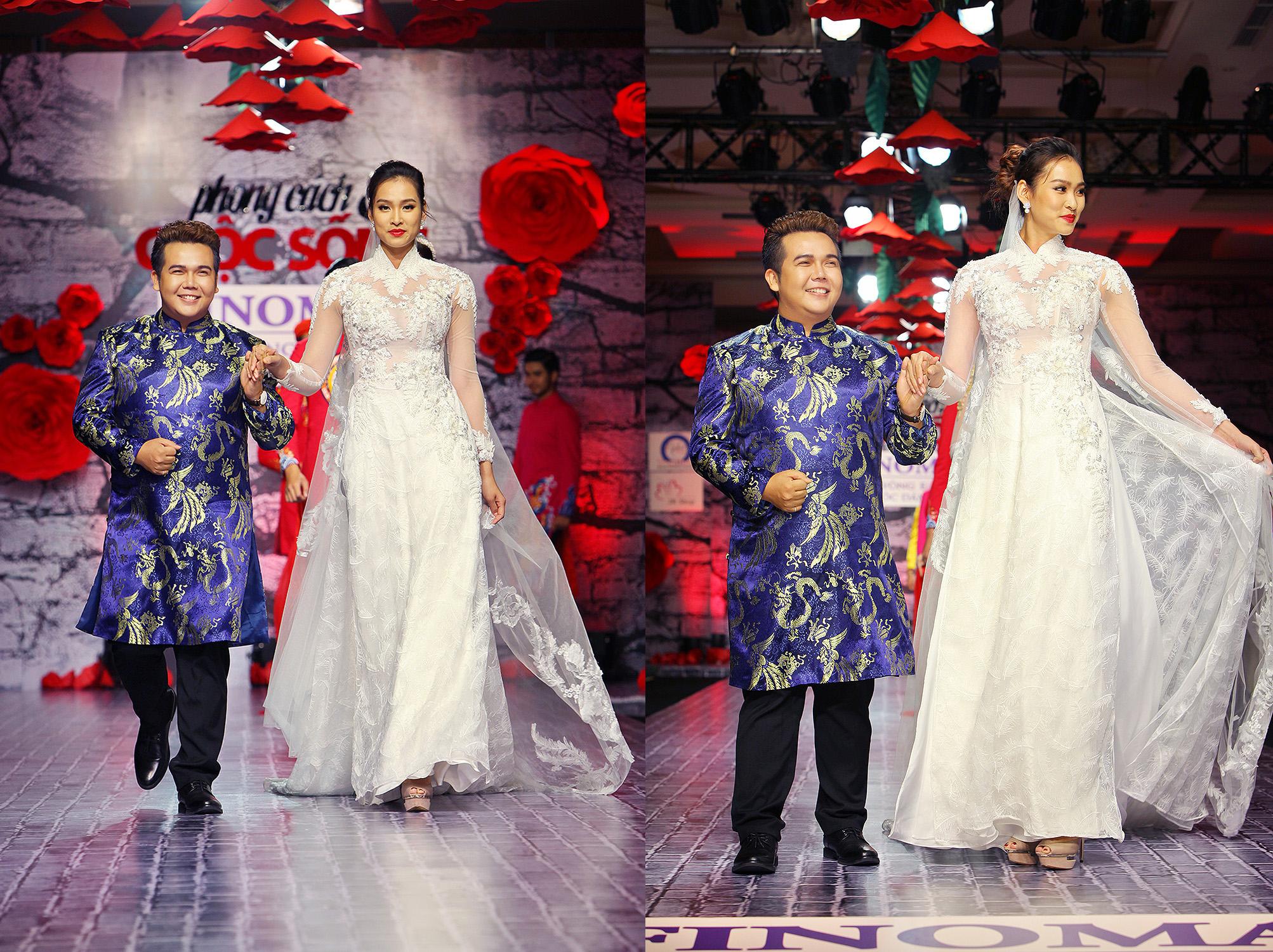 """""""Hớp hồn"""" áo cưới tình nhân trong BST """"Đính Ước"""" của NTK Minh Châu"""