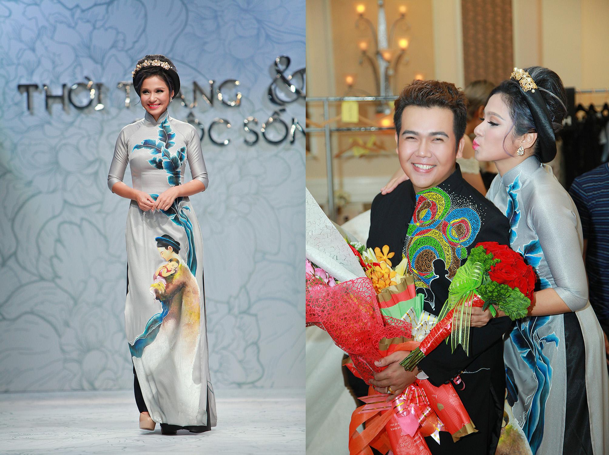 NTK Minh Châu bất ngờ được Việt Trinh hôn trước mặt nhiều người