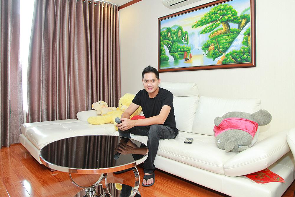 Căn hộ tiện nghi, ấm cúng của Minh Luân ở Sài Gòn