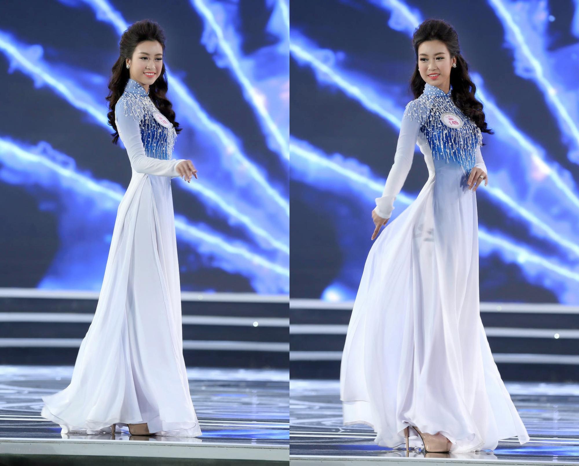 Đỗ Mỹ Linh tỏa sáng trong trang phục áo dài của NTK Ngô Nhật Huy