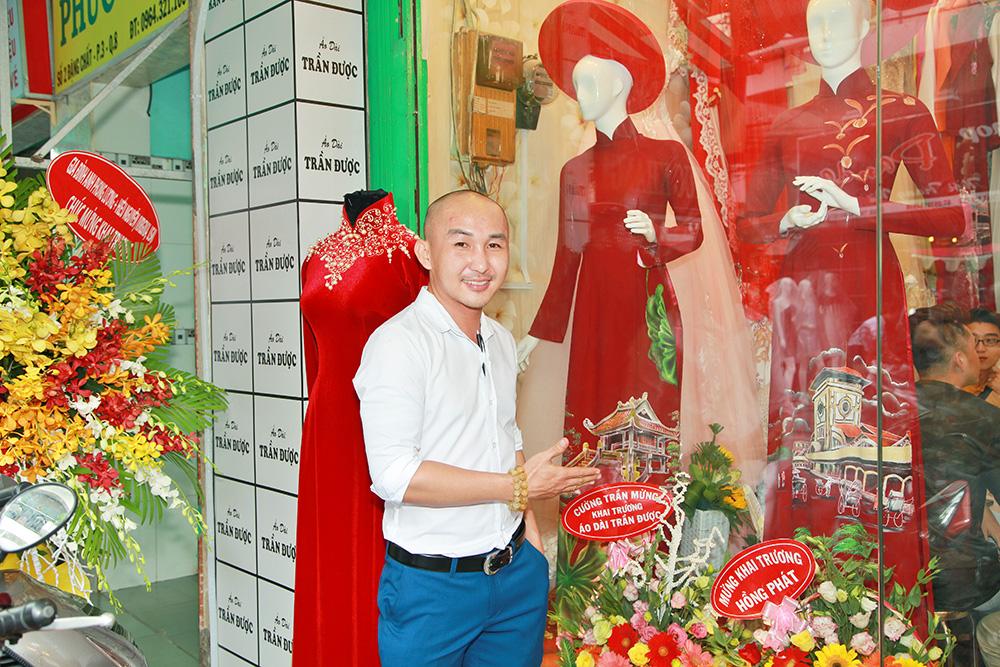 NTK Trần Được khai trương showroom Áo dài tại quận 8