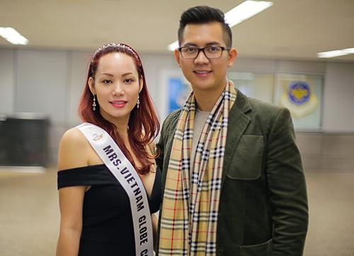 Master United Continents Quân Nguyễn Đại Diện Ban Tổ Chức Mrs. Globe Viet Nam Ra Sân Bay Đón Các Thí Sinh Tham Gia Vòng Chung Kết