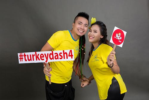 DJ Wang Trần – Thanh Nhân làm đại sứ chương trình từ thiện Turkey Dash 4