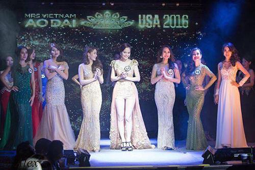 Ngắm vẻ đẹp nóng bóng của thí sinh Hoa hậu áo dài tại Mỹ.
