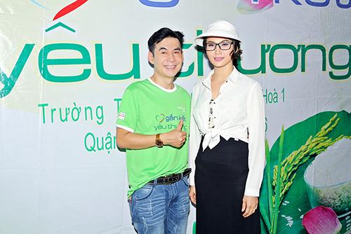 """Đoan Trường cùng Trương Hải Vân """"Gắn kết yêu thương"""""""