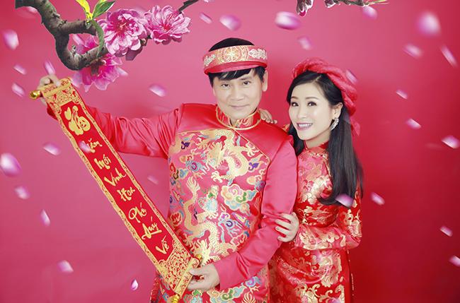 Kiều Linh - Mai Sơn kêu gọi ủng hộ Tết cổ truyền với bộ ảnh Xuân cực chất