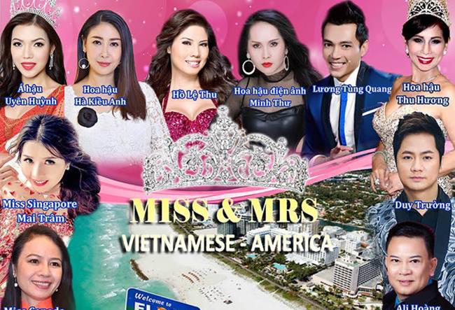 Thống đốc tiểu ban Florida ký độc quyền tổ chức hoa hậu Vietnamese- America cho Á hậu Uyên Huỳnh.