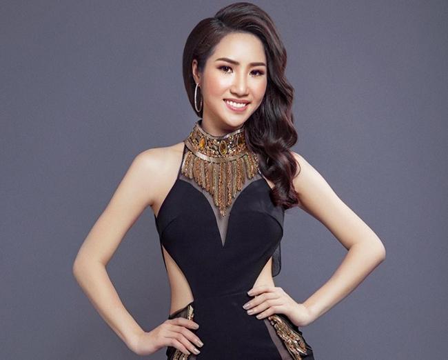 Á khôi Ngọc Vân đại diện Việt Nam tham gia cuộc thi Miss Oriental Tourism 2017