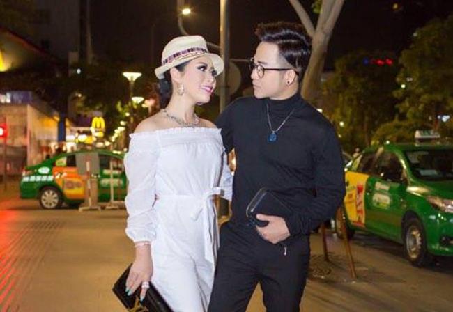 Vừa về Việt Nam, Hoa hậu Kristine Thảo Lâm đã hò hẹn cùng ca sĩ Quách Tuấn Du