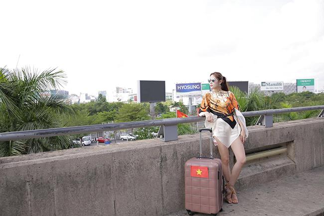 Hoa khôi Hoàng Hạnh kỳ vọng sẽ làm nên chuyện tại Miss Asia Beauty 2017