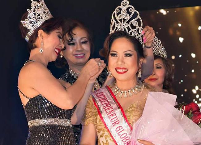 """Chiêm ngưỡng nhan sắc """"Hoa hậu doanh nhân Việt Nam Toàn cầu 2017"""" Huỳnh Lê Hương Thùy"""