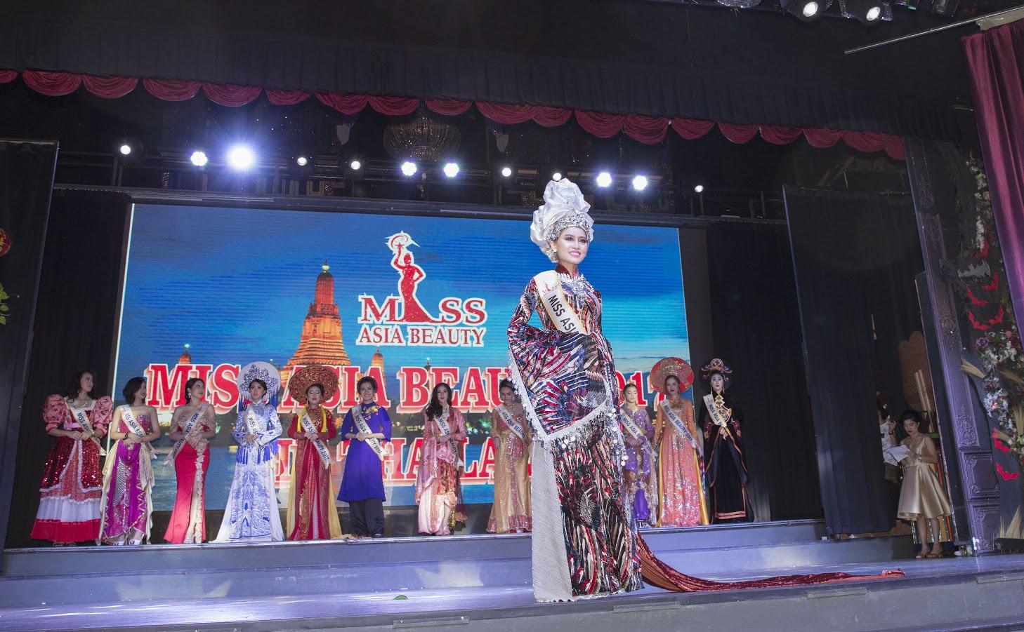 Ngọc Hà tài năng,  xinh đẹp giành được danh hiệu Á hậu 4 Miss Asia Beauty 2017