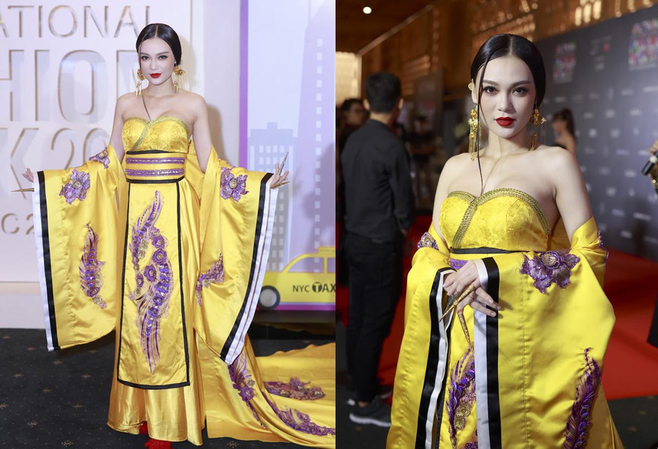 Cao Thùy Linh hóa mỹ nữ cổ trang, thả dáng đẹp hút hồn trên thảm đỏ
