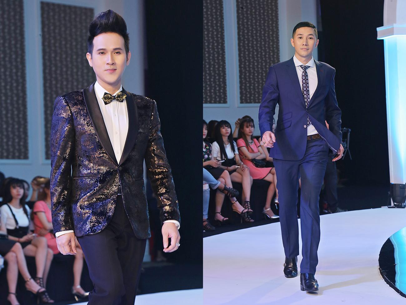Nguyên Vũ, Nam Phong hai 'soái ca' trên sàn diễn thời trang