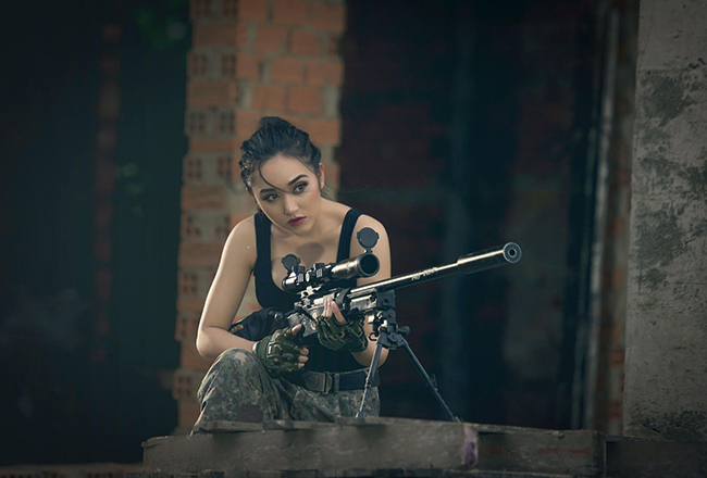 Huỳnh Kim Khánh cực ngầu trong bộ ảnh mới