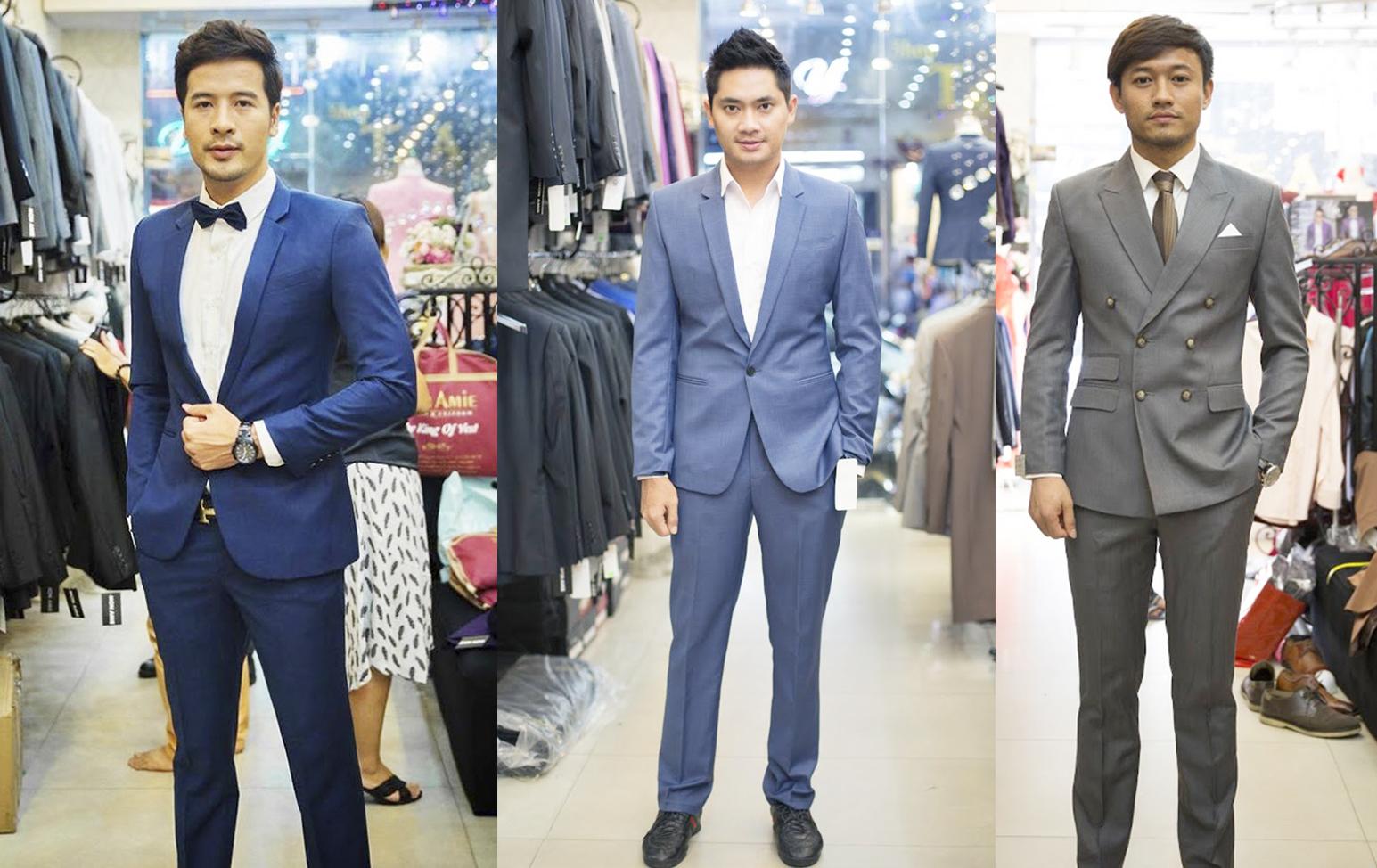 Minh Luân, Đoàn Thanh Tài, Quý Bình là quý ông V-biz lịch lãm trong trang phục vest