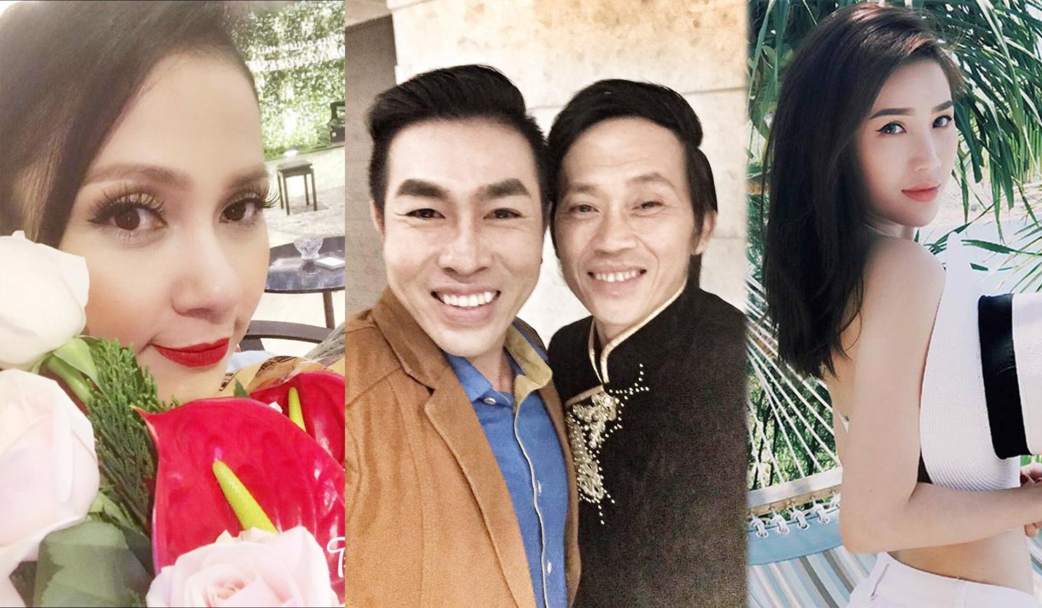 Ảnh đời thường qua Facebook của Sao Việt ngày 9/7