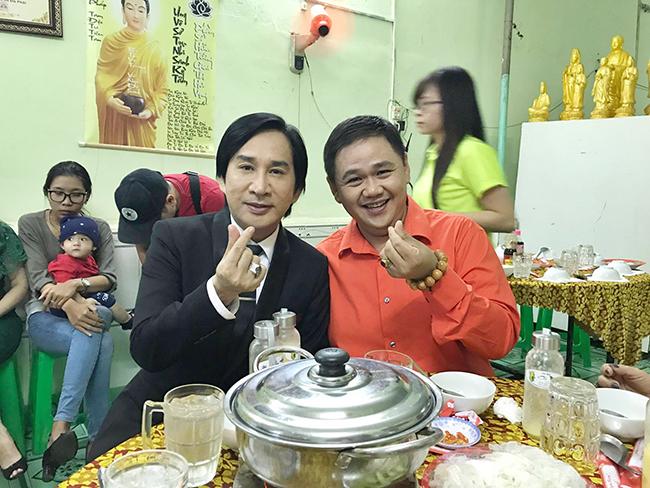 Kim Tử Long cùng Minh Béo kêu gọi ủng hộ quán chay 3000