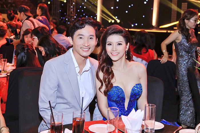 Diễn viên Chí Dũng lần đầu ra mắt vợ là Hoa hậu Xuân Thủy.