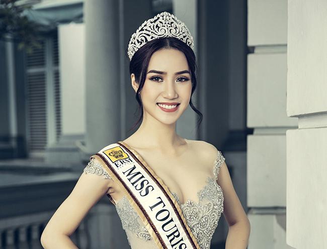 Ngọc Vân trở thành gương mặt đại sứ của cuộc thi Hoa hậu Phụ nữ Sắc Đẹp 2017