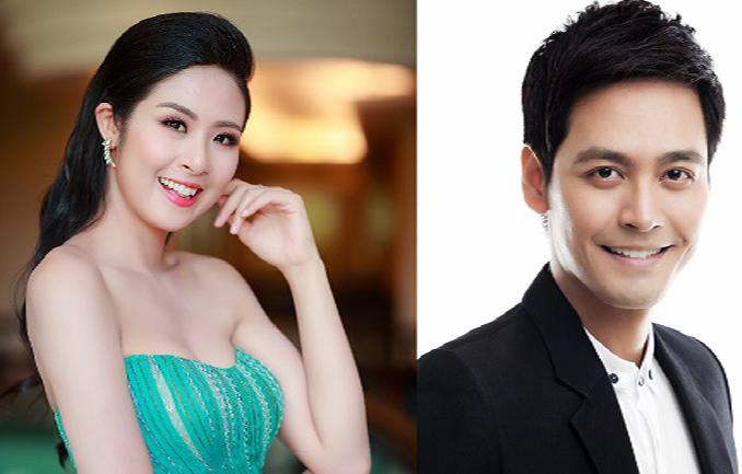 Hoa hậu Ngọc Hân cùng MC Phan Anh và Hoa hậu Xuân Hương làm giám khảo Hoa hậu Phụ nữ Sắc đẹp 2017