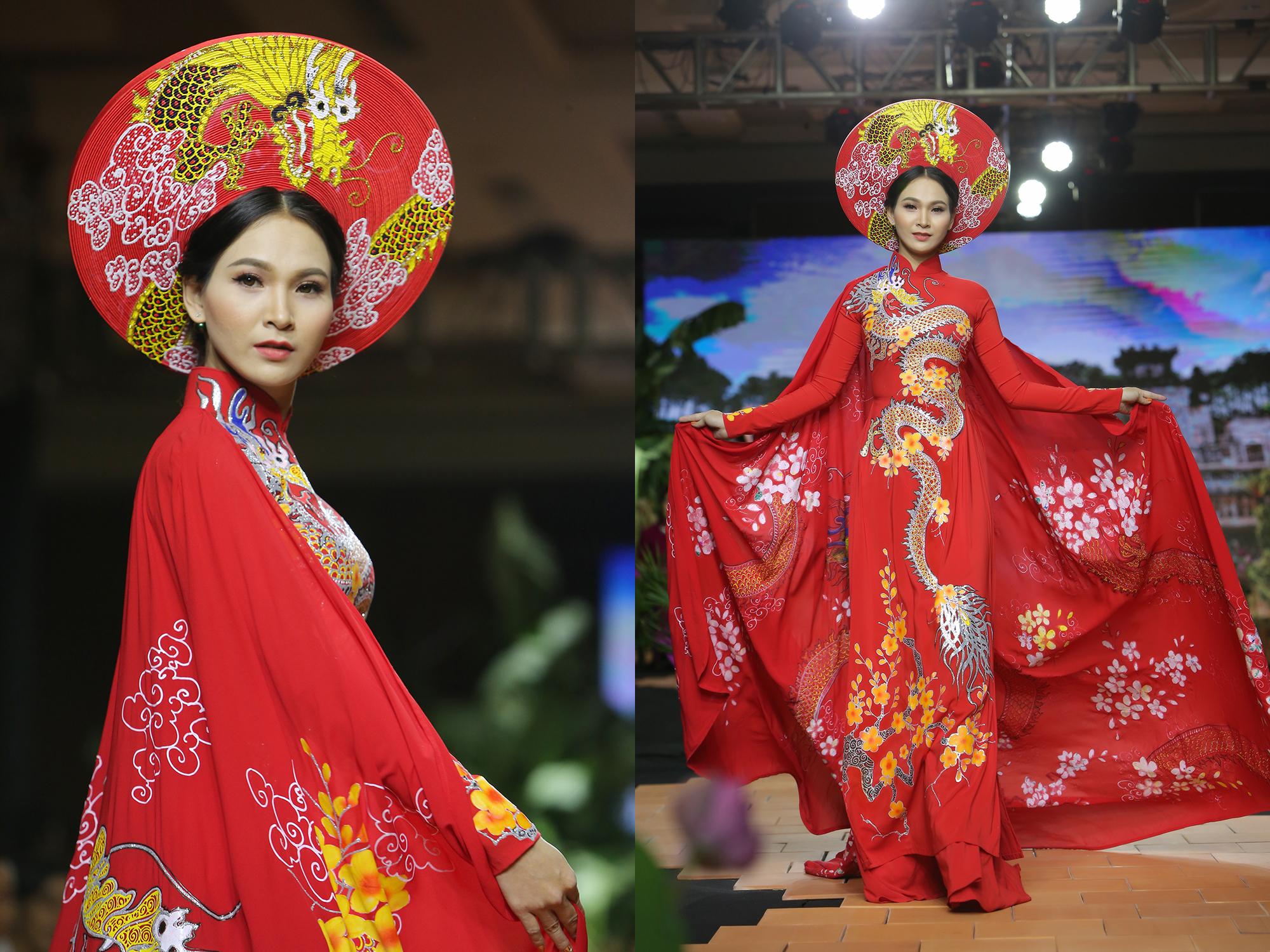 """Trương Hải Vân xuất sắc với màn trình diễn áo dài """"Phong cách trẻ"""""""