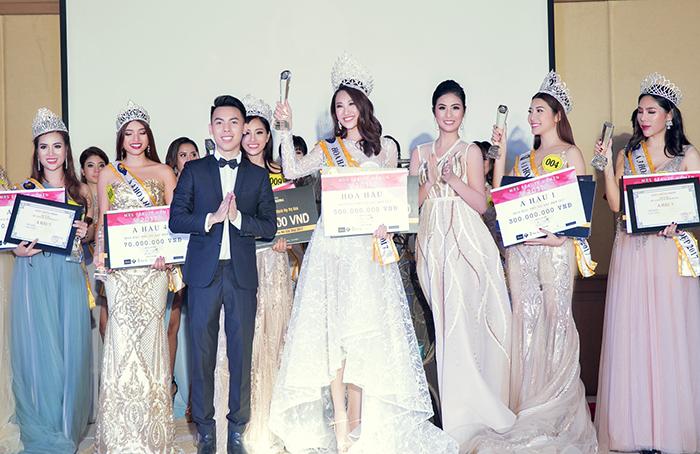 Phạm Anh Thư đăng quang Hoa hậu Phụ  nữ Sắc Đẹp 2017