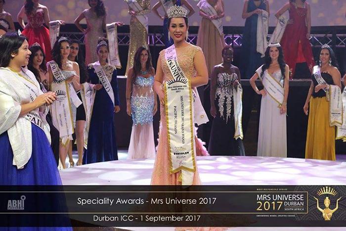 Nổi bật suốt cuộc thi, Hạnh Lê được BTC chọn là Hoa hậu Đại Sứ và được đặt cách vào thẳng Top 5