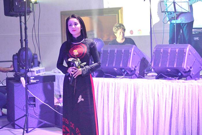 Ca sỹ Amy Lê Anh tham gia đêm nhạc từ thiện tại Đan Mạch