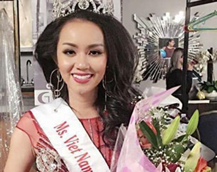 Amy Lê Anh bất ngờ đăng quang Hoa Hậu Việt Nam Toàn Cầu