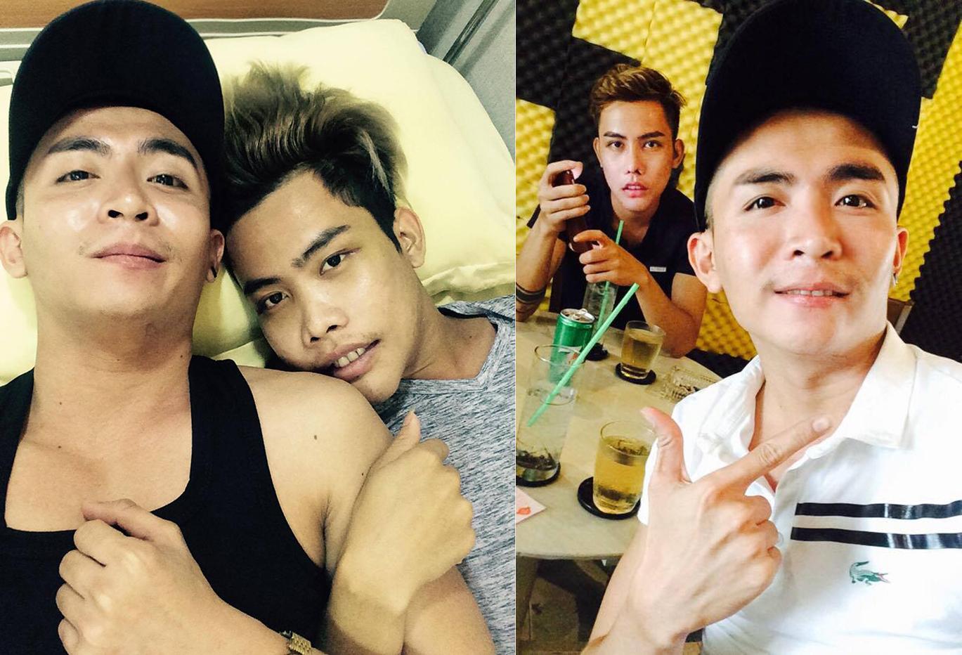 """Sau dao kéo, Tùng Sơn bị bạn trai đồng tính tố """"ăn cháo đá bát"""""""