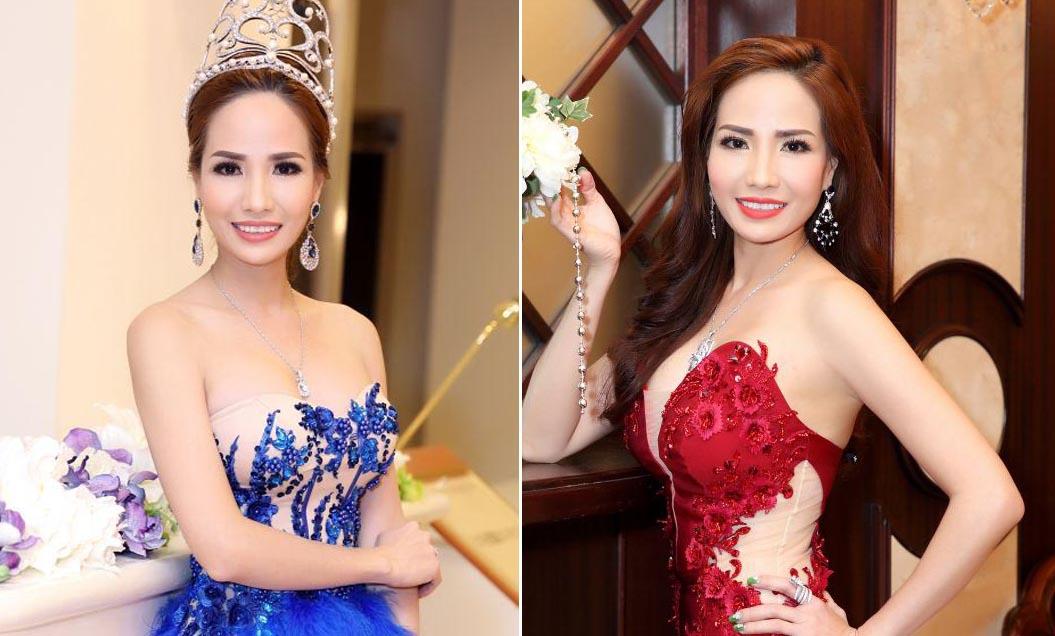 Hành trình làm Đại sứ hình ảnh tại Hoa hậu Doanh Nhân Hoàn Vũ của Hoa khôi Bảo Ngọc