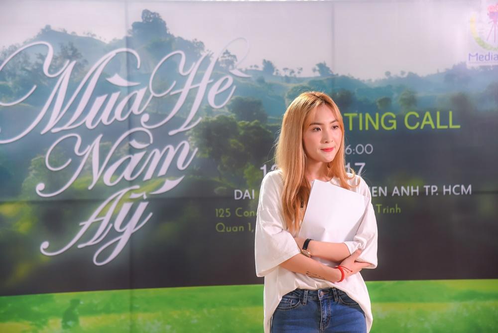 """LipB - """"Gà cưng"""" của Đông Nhi hào hứng tham gia casting phim """"Mùa Hè Năm Ấy""""!"""
