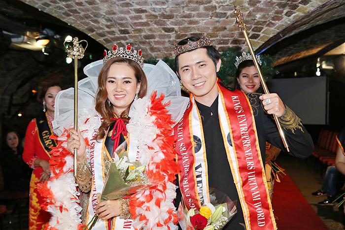 Nữ hoàng & Nam vương Doanh nhân Việt Nam quốc tế đã có chủ