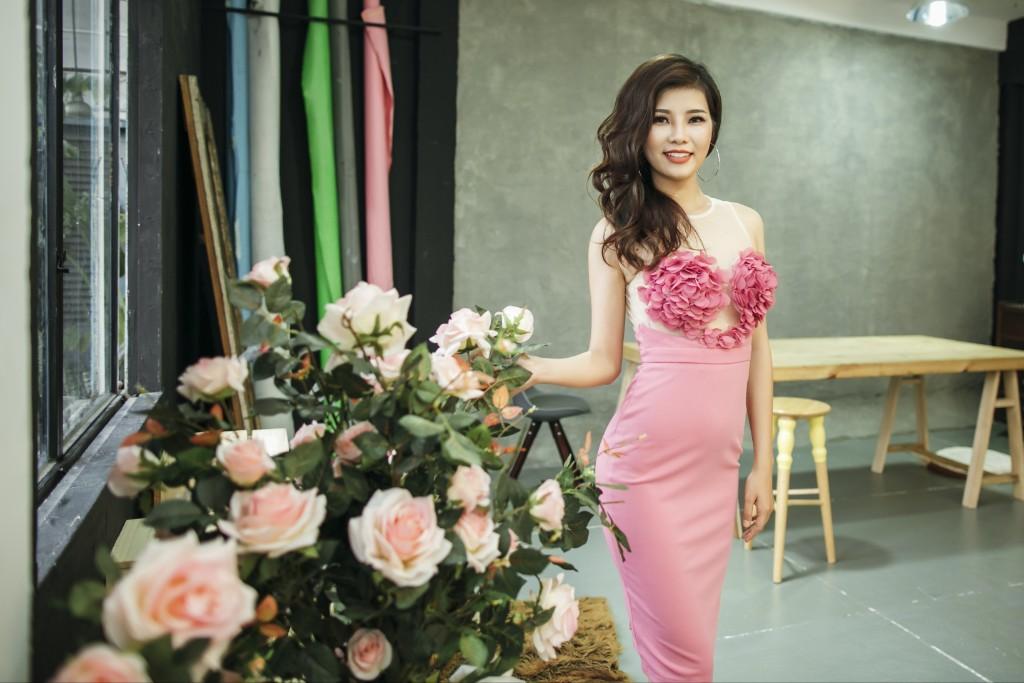 """Thí sinh Trà My sẵn sàng cho đêm chung kết """"Hoa hậu Đại Dương"""""""
