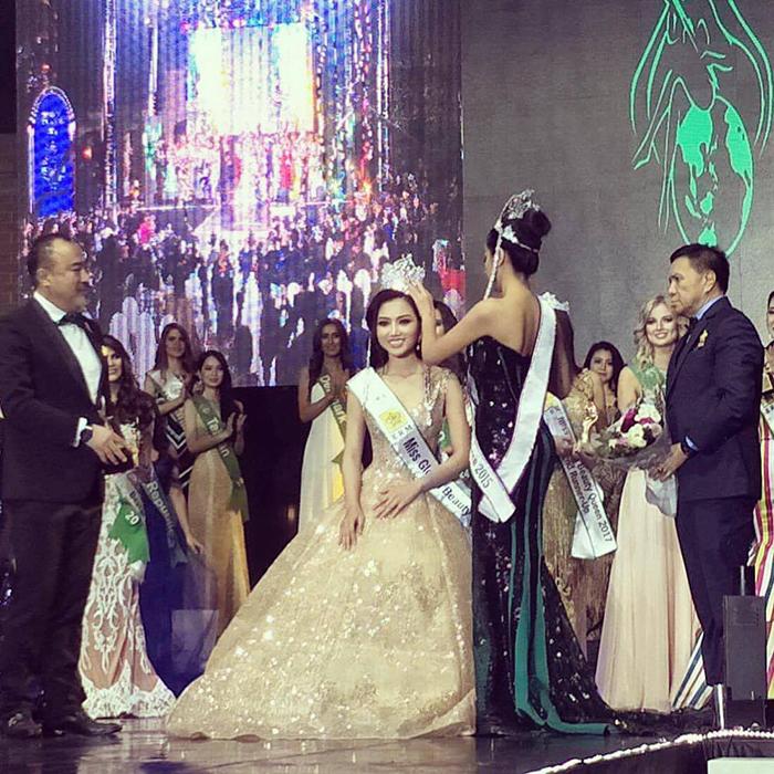 Hoàng Thu Thảo - Nhan sắc Việt đầu tiên đăng quang Hoa hậu Quốc tế trong năm 2017