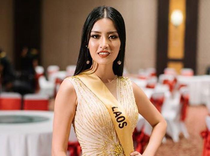 Miss Grand Lào tỏa sáng trong đêm bán kết với dạ hội Minh Tuấn Nguyễn