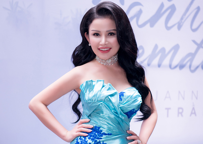 Hoa hậu Janny Thủy Trần tham gia con đường ca hát chuyên nghiệp