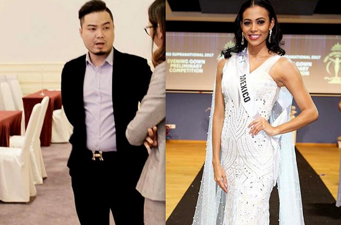 Sau Hoa hậu hoàn vũ, thí sinh Hoa hậu siêu quốc gia 2017 mặc trang phục Đức Vincie