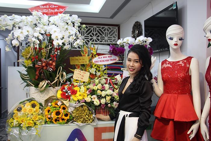 Nhà thiết kế trẻ Vân Huỳnh khai trương thương hiệu ABC Vân Huỳnh