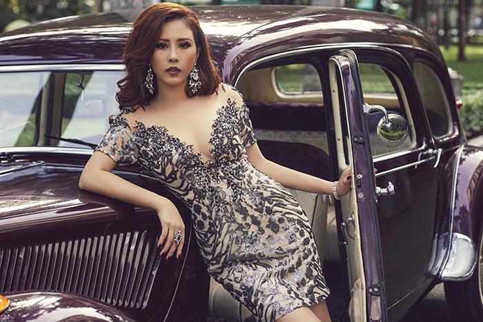 Hoa hậu Thu Hoài tự hào với thương hiệu trà sữa cho sức khoẻ