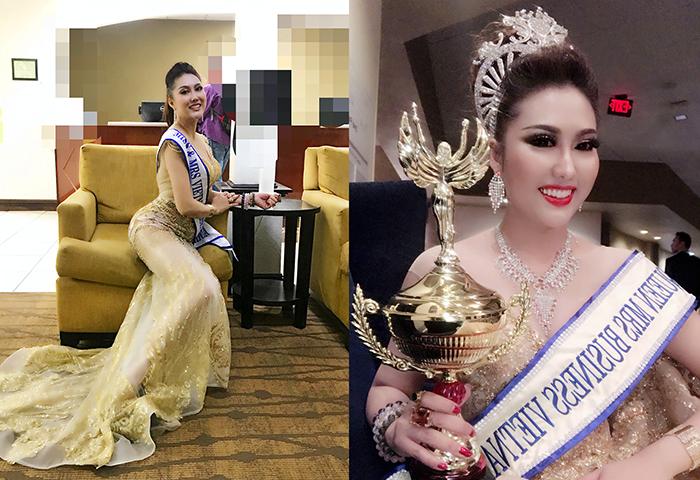 Phi Thanh Vân đăng quang Hoa hậu Thế giới người Việt tại Mỹ